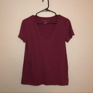 American Eagle Soft And Sexy V Neck Tee